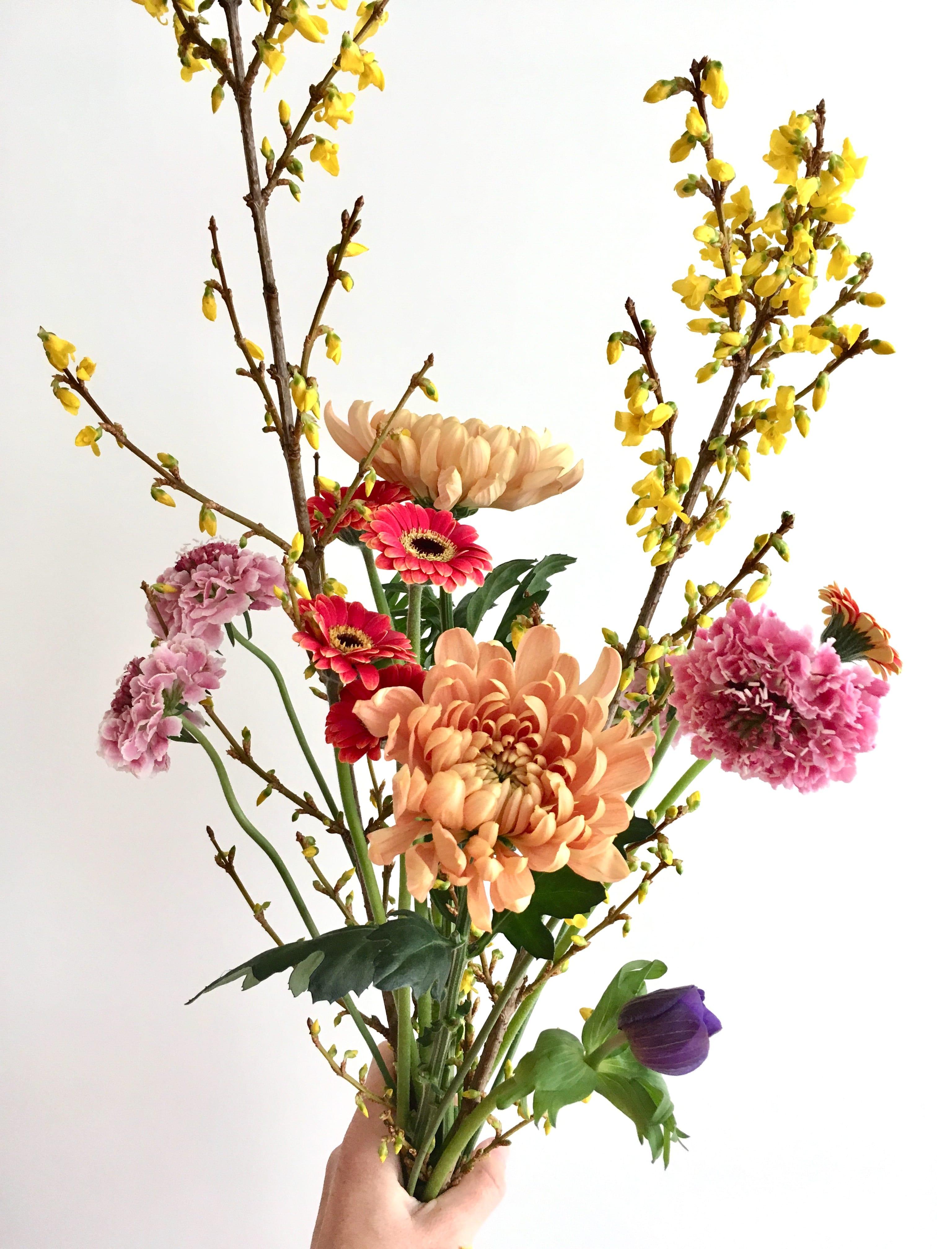 Suscripción 3 Meses: 1 ramo de flores cada semana > 03/01/2019