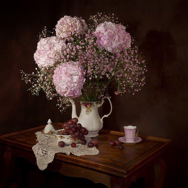 Flor de Hortensia