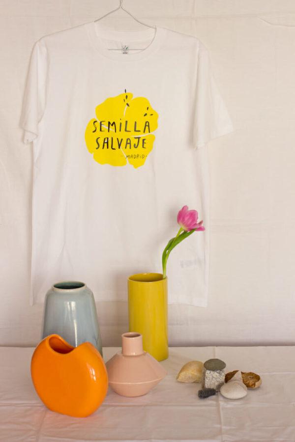 Camiseta Semilla Salvaje algodón comercio justo