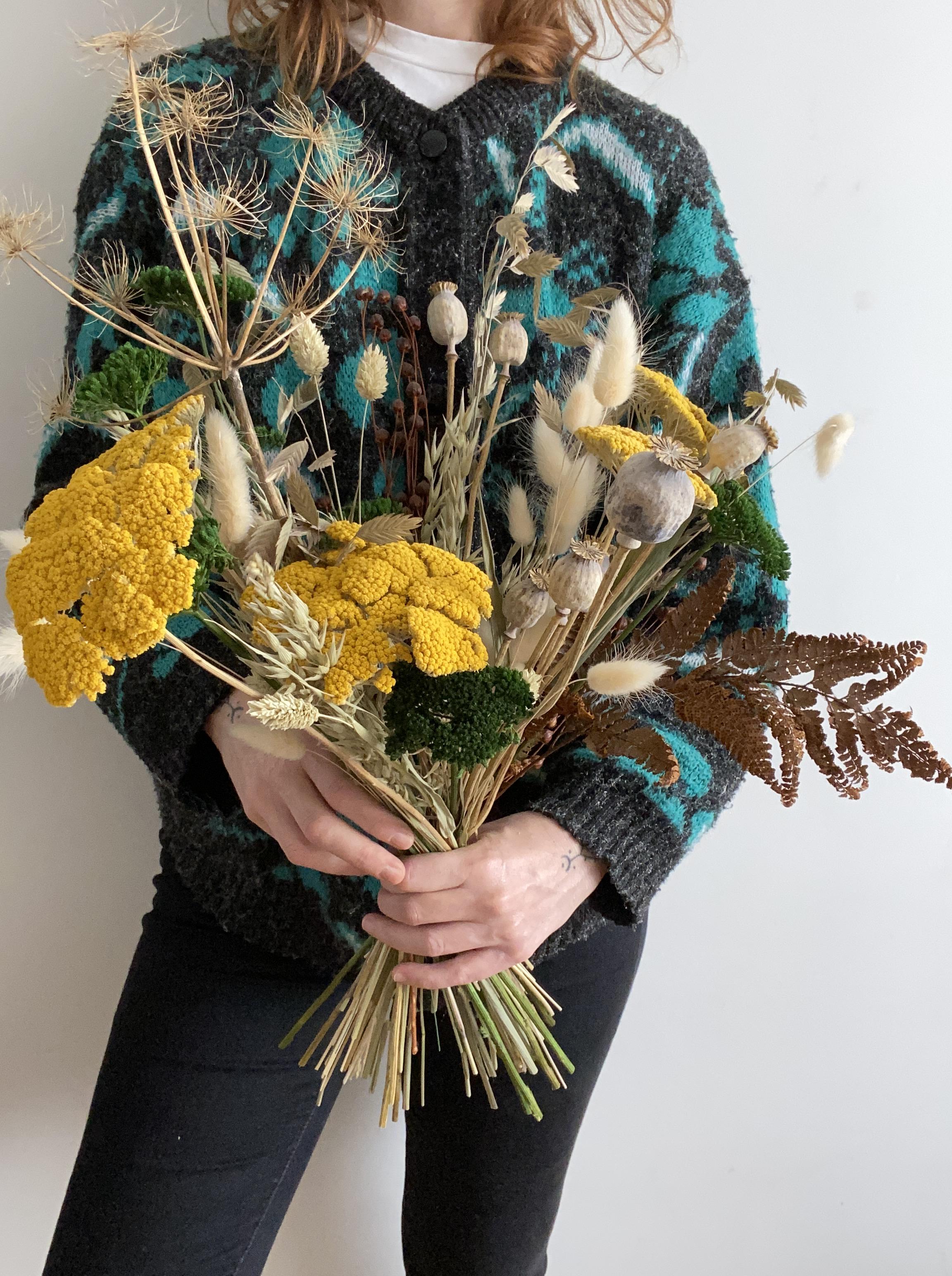 Ramo Carolina flores secas