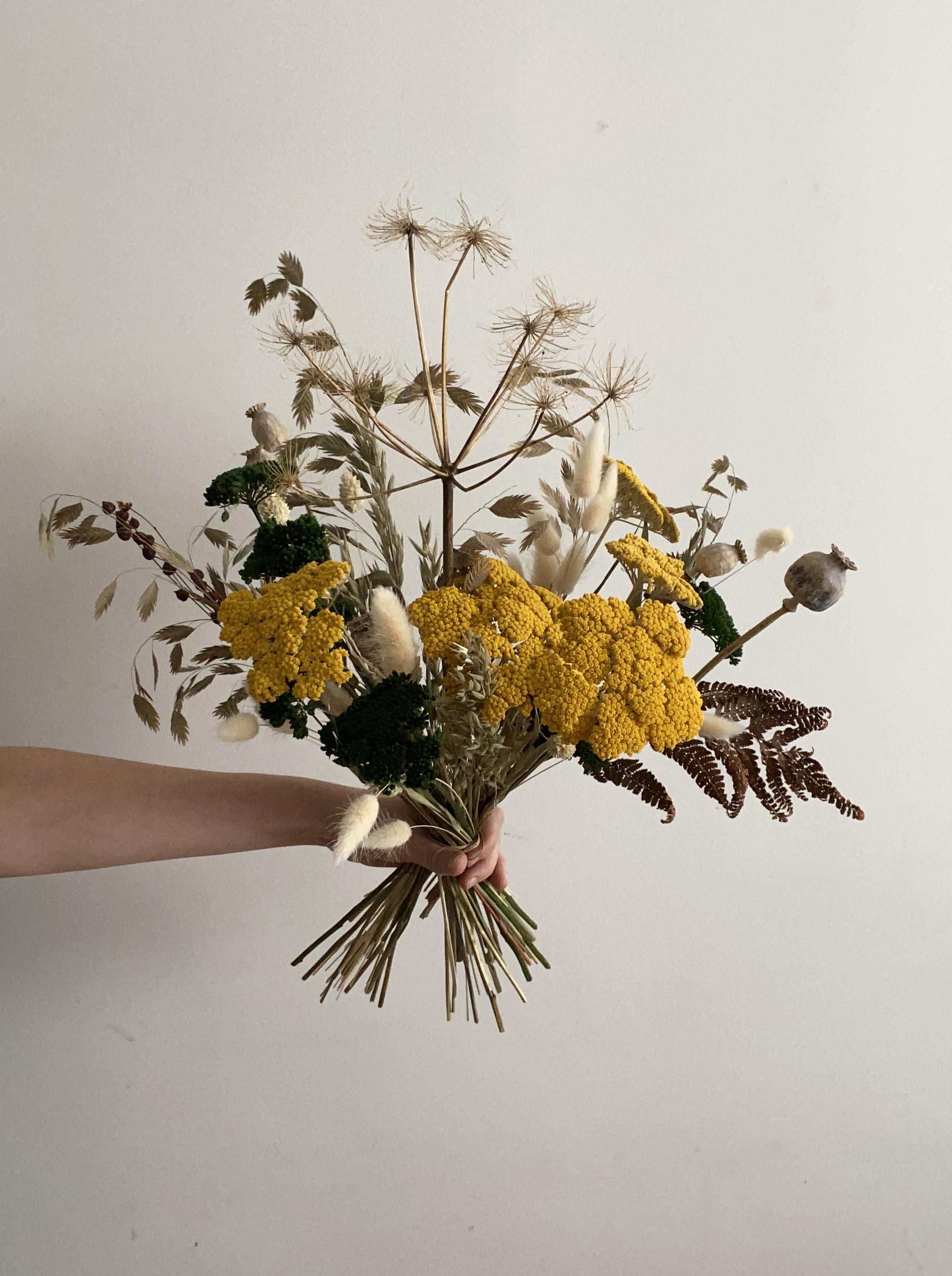 Flores secas ramo CAROLINA