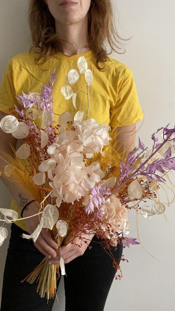 Flores secas EVA