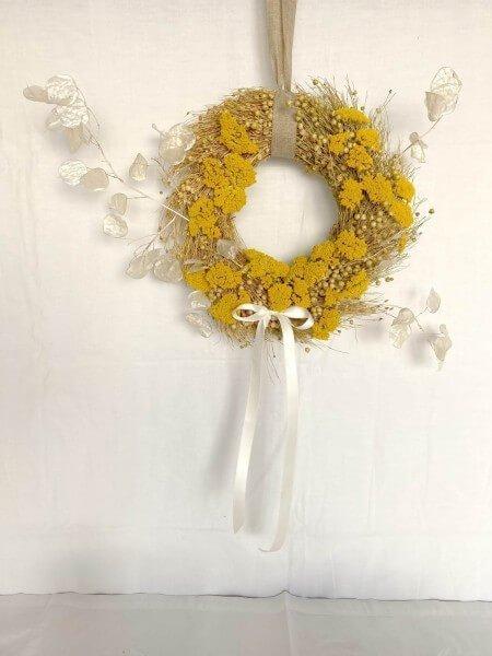 corona de flores secas EMMA